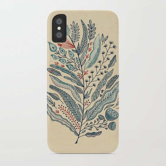 Turning Over A New Leaf iPhone Case
