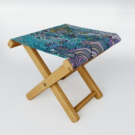 THE AFTERPARTY Folding Stool