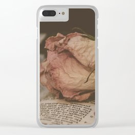 Heal My Broken Heart 2 Clear iPhone Case