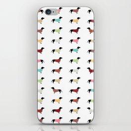 Dachshund - Sweaters #502 iPhone Skin