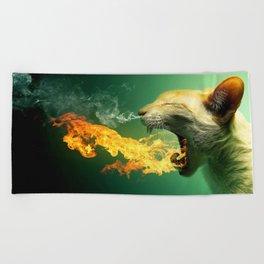 Cat Trip Beach Towel