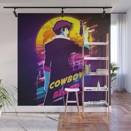 cowboy bebop retro Wall Mural