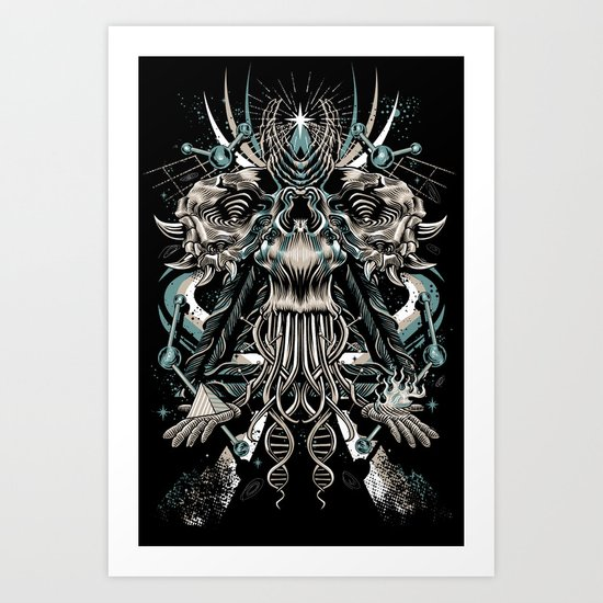 Cosmic Dust Art Print