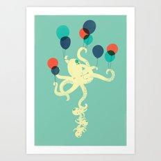 Up We Go Art Print