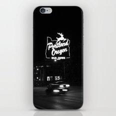 Portland BW iPhone & iPod Skin