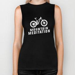 Mountain Meditation MTB Mountain Bike Cyclist Biker Tank