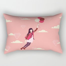 Lucy in the Sky Rectangular Pillow