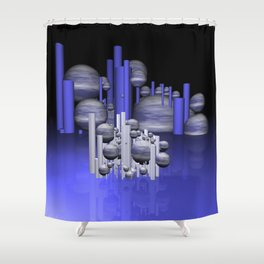 in the future -01- Shower Curtain