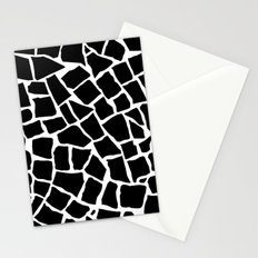 Mosaic Zoom Black and White Stationery Cards