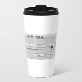 Work in progress bar #2 Travel Mug