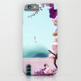 Floral Greece iPhone Case