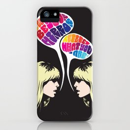 Nico: I'll Be Your Mirror iPhone Case