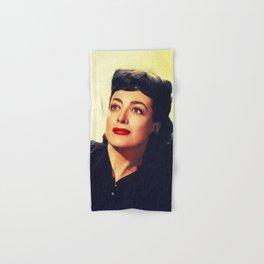 Joan Crawford, Hollywood Legend Hand & Bath Towel