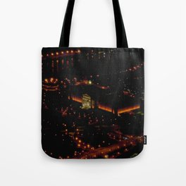 Chicago's Field Museum: A Bird's Eye View (Chicago Architecture Collection) Tote Bag
