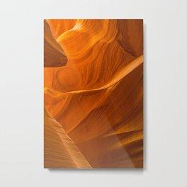 Antelope Canyon Textures Metal Print