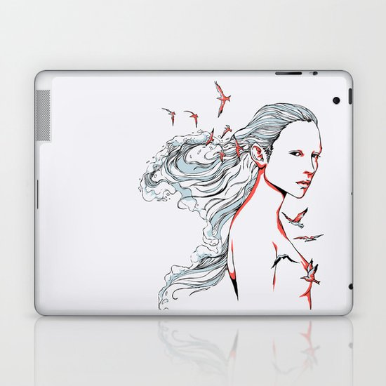 Queen of Ocean Laptop & iPad Skin