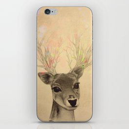 Electro-deer iPhone Skin