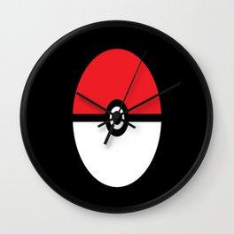 Poke Ball Wall Clock