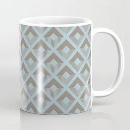 Two-toned square pattern Coffee Mug