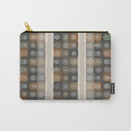 Pale Spacey Panels Carry-All Pouch