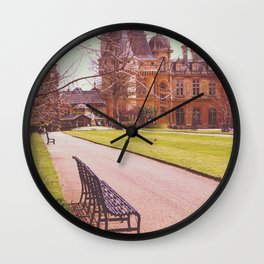 Country Manor Wall Clock