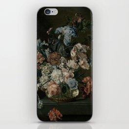 Cornelia Van Der Mijn - Still Life With Flowers iPhone Skin