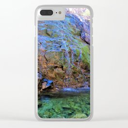 clear green water Clear iPhone Case