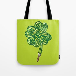 Clover - Make own luck Tote Bag