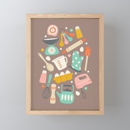 In the Kitchen Framed Mini Art Print