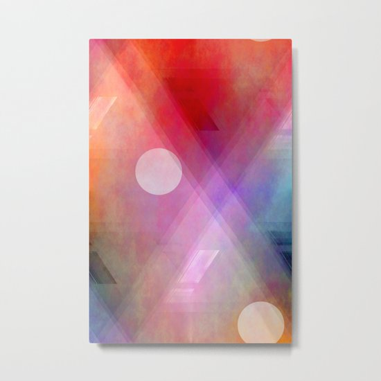 Multicolored abstract no. 44 Metal Print