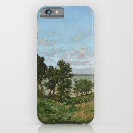 Claude Monet - Coastal landscape iPhone Case