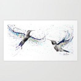 Hummingbirds Kunstdrucke