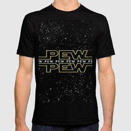 Pew Pew Stars Wars T-shirt