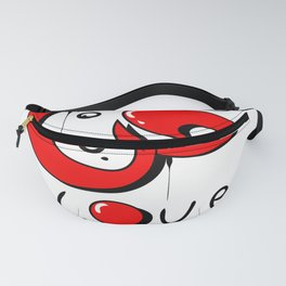 graffiti love word in arabic and english Fanny Pack