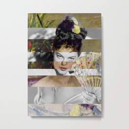 Berthe Morisot's At the Ball & Ava Gardner Metal Print