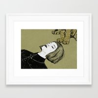monsters Framed Art Prints featuring Monsters by Lola Beltrán