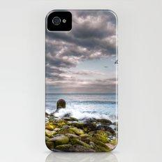 Stormy Beach Slim Case iPhone (4, 4s)
