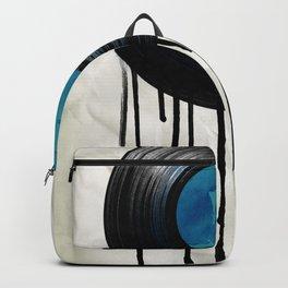 vinyl drip Backpack