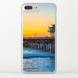 San Clemente Pier California United States Ultra HD Clear iPhone Case