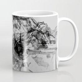 Alyeska in Monochrome no. 7 Coffee Mug