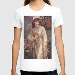 Dante Gabriel Rossetti - Salutation of Beatrice, 1880 T-shirt