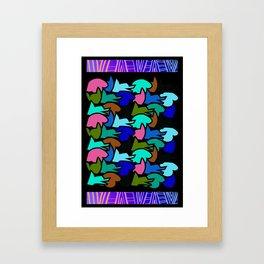 Wild Run Framed Art Print