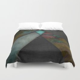 """Grunge metal pattern"" Duvet Cover"
