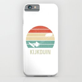 Kijkduin Kiteboarder TShirt Kite Boarding Shirt Kite Surfing Gift Idea  iPhone Case