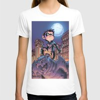 nightwing T-shirts featuring Lil' Nightwing by J Skipper