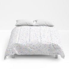 Speckles I: Rose Quartz & Serenity on Snow Comforters