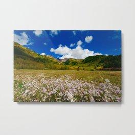 Utah Spring Landscape Metal Print