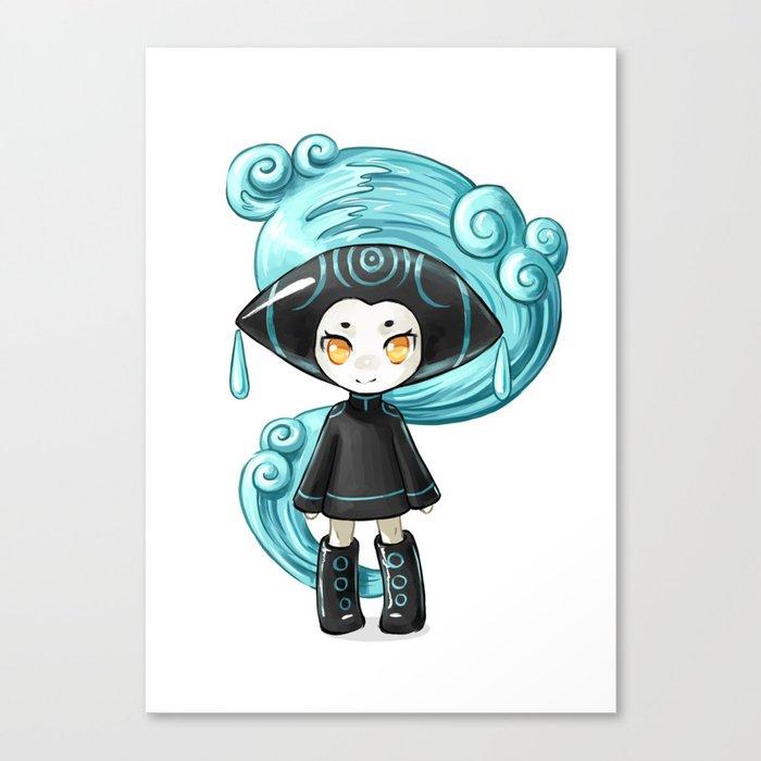 Water Sprite Canvas Print