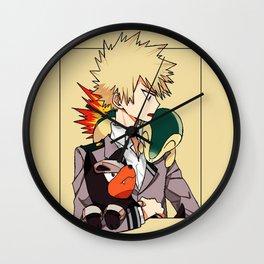 Katsuki Bakugou Nice Wall Clock