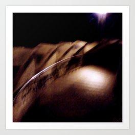 Worlds, Drowning, Collide Art Print
